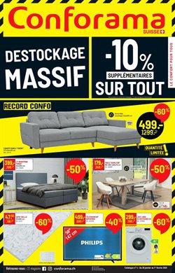 Angebote von Haus & Möbel im Conforama Prospekt in Bern ( Gestern veröffentlicht )