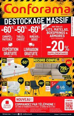 Angebote von Haus & Möbel im Conforama Prospekt in Lausanne ( Vor 2 Tagen )