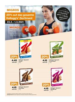 Angebote von Fitness in Migros