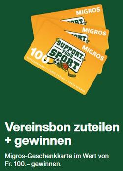 Migros Coupon in Bern ( Läuft morgen ab )