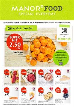 Angebote von Kaufhäuser im Manor Prospekt in Lausanne ( 2 Tage übrig )