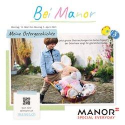 Manor Katalog in Zürich ( Abgelaufen )