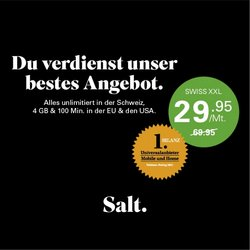 Angebote vonSalt im Salt Prospekt ( Gestern veröffentlicht)