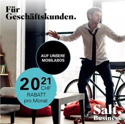 Salt Gutschein ( 10 Tage übrig )