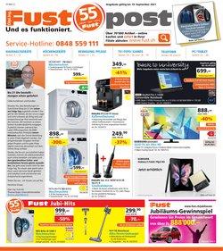 Angebote vonElektro & Computer im Fust Prospekt ( Läuft heute ab)