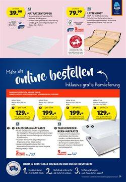 Angebote von Bett in Aldi
