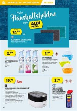 Angebote von Drogerie in Aldi