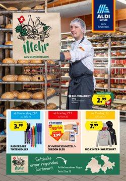 Aldi Katalog in Zürich ( Gestern veröffentlicht )