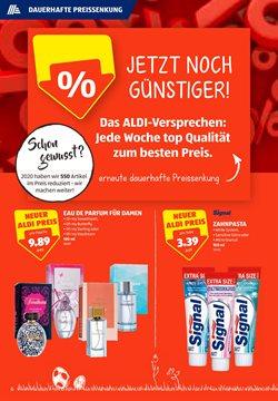 Angebote von Eau de Parfum in Aldi