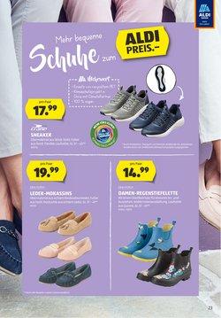Angebote von Sneaker in Aldi