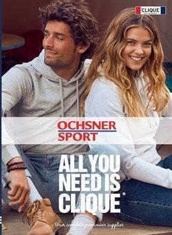 Ochsner Sport Katalog in Bern ( Mehr als 30 Tage )