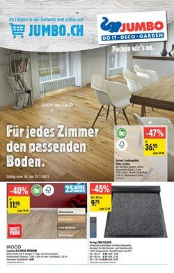 Angebote von Baumärkte & Gartencenter im Jumbo Prospekt in Zürich ( 5 Tage übrig )