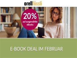 Angebote von Bücher & Bürobedarf im Orell Füssli Prospekt ( 2 Tage übrig )