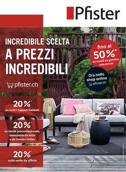 Pfister Katalog ( Gestern veröffentlicht )