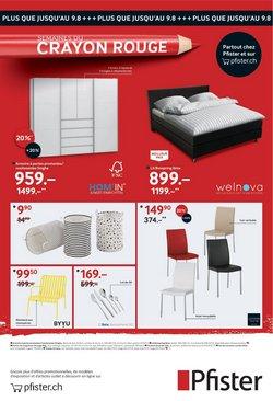 Angebote vonHaus & Möbel im Pfister Prospekt ( 8 Tage übrig)