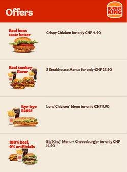 Angebote vonRestaurants im Burger King Prospekt ( 12 Tage übrig)