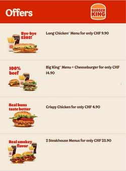 Angebote vonRestaurants im Burger King Prospekt ( Läuft heute ab)