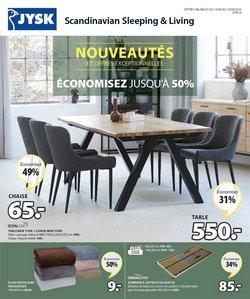 Angebote vonHaus & Möbel im JYSK Prospekt ( Läuft heute ab)
