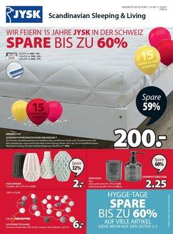 Angebote vonHaus & Möbel im JYSK Prospekt ( Läuft morgen ab)