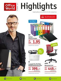 Angebote von Bücher & Bürobedarf im Office World Prospekt in Bern ( Läuft heute ab )