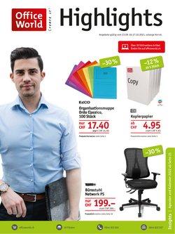 Angebote vonBücher & Bürobedarf im Office World Prospekt ( 11 Tage übrig)