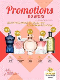 Angebote von Drogerien & Schönheit im Import Parfumerie Prospekt in Bern ( 28 Tage übrig )