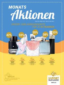 Angebote vonDrogerien & Schönheit im Import Parfumerie Prospekt ( 22 Tage übrig)