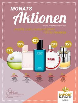 Angebote vonDrogerien & Schönheit im Import Parfumerie Prospekt ( Läuft morgen ab)