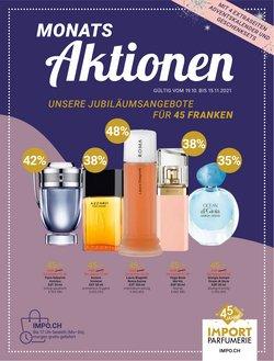 Angebote vonDrogerien & Schönheit im Import Parfumerie Prospekt ( 25 Tage übrig)