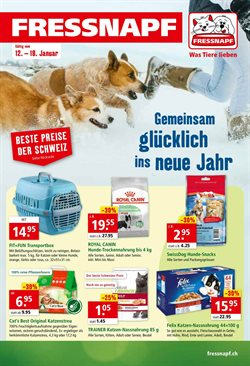 Fressnapf Katalog in Bern ( Läuft morgen ab )