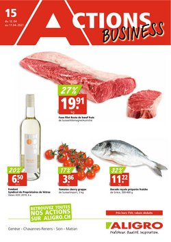 Aligro Katalog in Lausanne ( Gestern veröffentlicht )