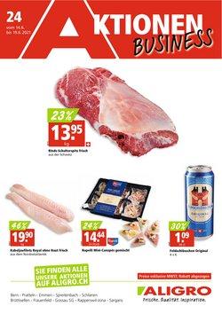 Angebote vonSupermärkte im Aligro Prospekt ( Gestern veröffentlicht)