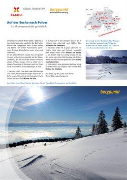 Angebote von Sport im Bächli Bergsport Prospekt in Zürich ( Mehr als 30 Tage )
