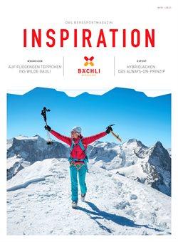 Bächli Bergsport Katalog in Basel ( Mehr als 30 Tage )