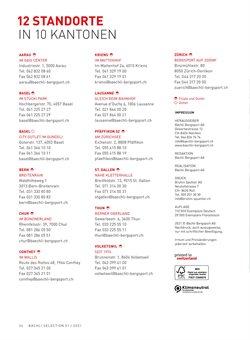 Angebote von Fax in Bächli Bergsport