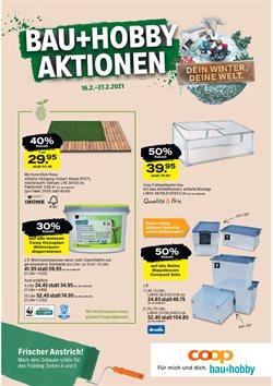 Angebote von Baumärkte & Gartencenter im Coop Bau+Hobby Prospekt ( Läuft heute ab )