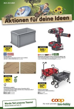 Angebote vonBaumärkte & Gartencenter im Coop Bau+Hobby Prospekt ( 6 Tage übrig)
