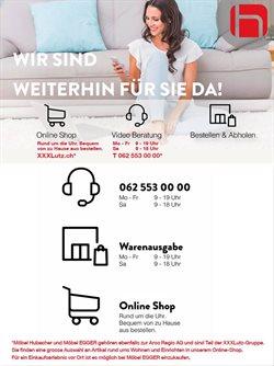 Möbel Hubacher Katalog ( Läuft morgen ab )