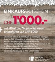 Möbel Hubacher In Zofingen Kataloge Und Aktionen