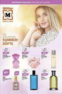 Angebote vonDrogerien & Schönheit im Müller Prospekt ( 9 Tage übrig)
