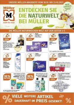 Angebote vonDrogerien & Schönheit im Müller Prospekt ( 2 Tage übrig)