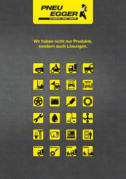 Pneu Egger Katalog ( Gestern veröffentlicht )