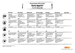 Angebote vonRestaurants im Coop Restaurant Prospekt ( Läuft morgen ab)