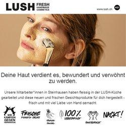 Angebote vonDrogerien & Schönheit im Lush Prospekt ( 17 Tage übrig)