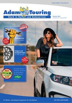 Angebote vonAuto, Motorrad & Werkstatt im Adam Touring Prospekt ( Mehr als 30 Tage)