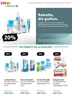 Angebote von Drogerien & Schönheit im Coop Vitality Prospekt in Lausanne ( 3 Tage übrig )