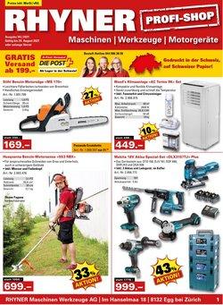 Angebote vonBaumärkte & Gartencenter im Rhyner Prospekt ( Mehr als 30 Tage)