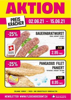 Angebote vonSupermärkte im Fleisch Discount Prospekt ( Läuft heute ab)
