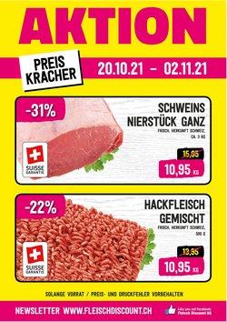 Angebote vonFleisch Discount im Fleisch Discount Prospekt ( Gestern veröffentlicht)