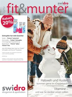 Angebote von Drogerien & Schönheit im Swidro Prospekt in Zürich ( Mehr als 30 Tage )